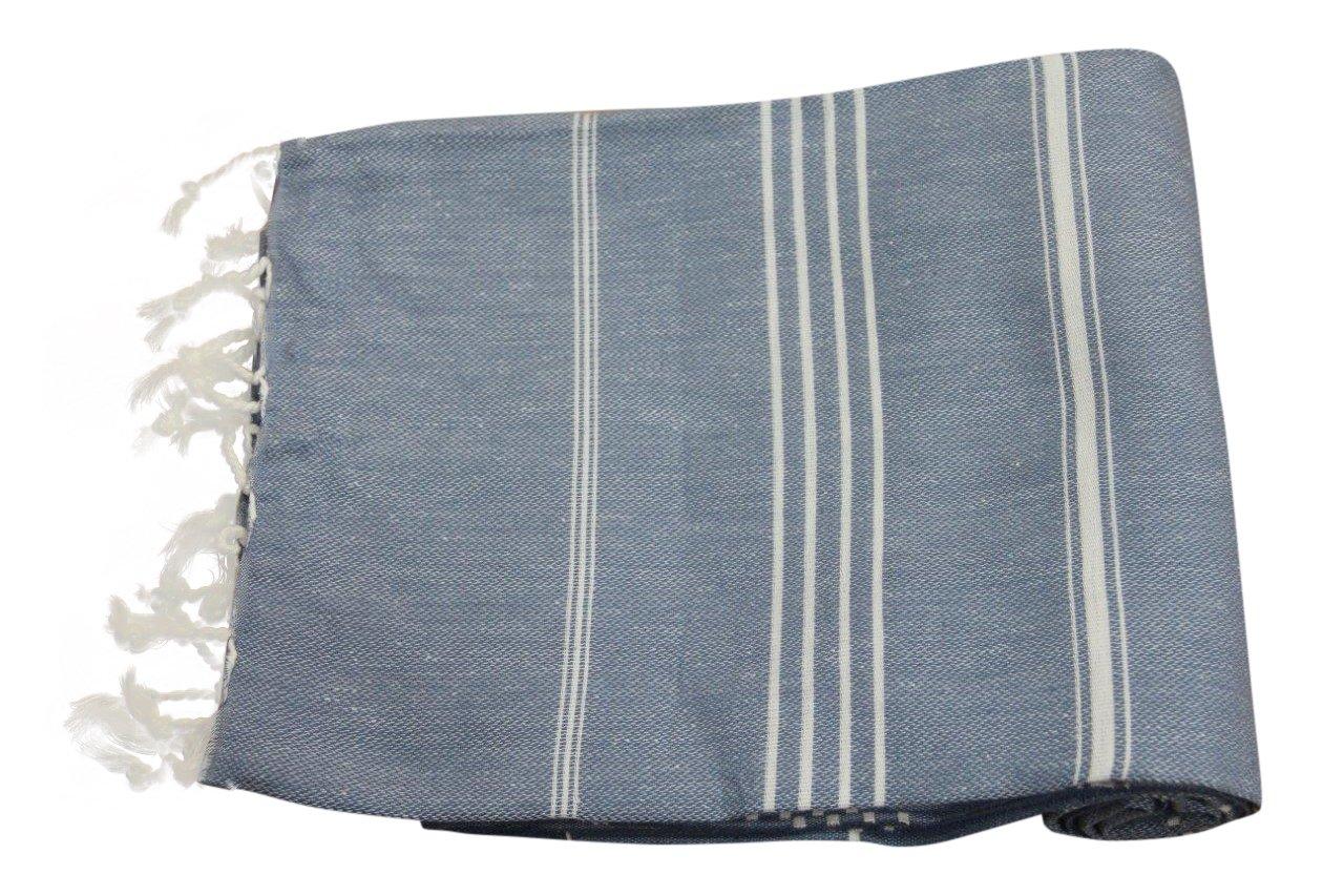 Hamamdoek jeansblauw